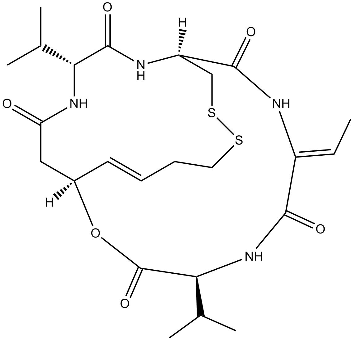 Romidepsin (FK228, depsipeptide)